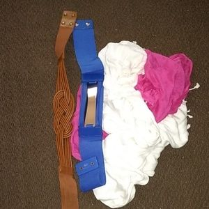 Accessories - 2 scarves 2 Waist Belts FREE